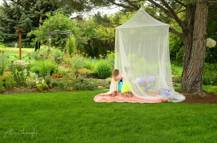 Enchanted fairy garden birthday party kids party time - Enchanting rooftop garden ideas ...