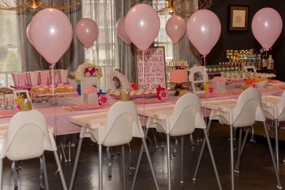 Naomi's Cake Smash First Birthday