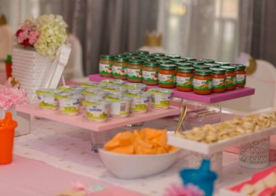 First Birthday Party with Baby Food