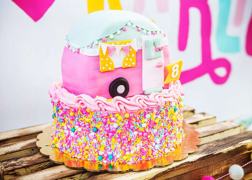 Girly Glamping Birthday Party Kids Party Time