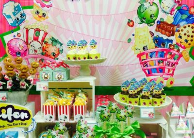 Shopkins Birthday Party Table