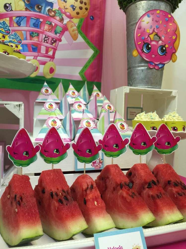 Shopkins Kids Birthday Party Time