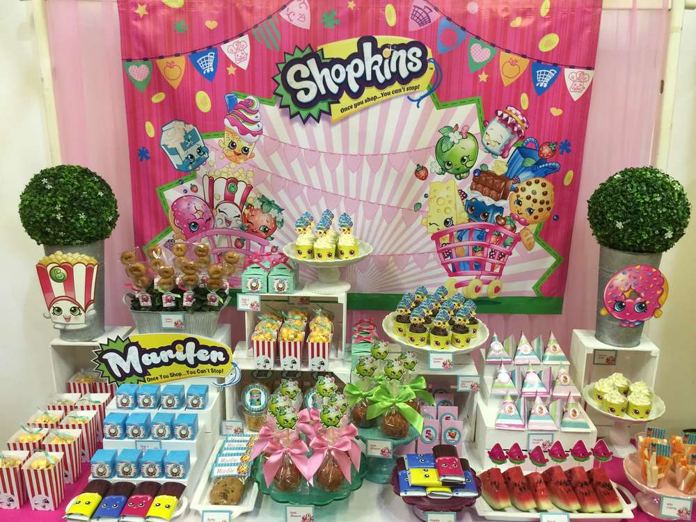 Shopkins Kids Birthday Party Kids Party Time