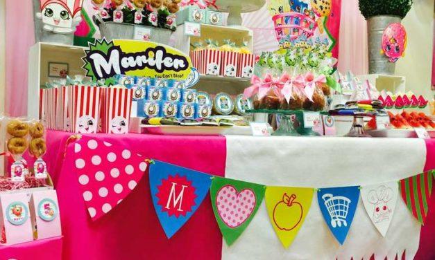 Shopkins Kids Birthday Party