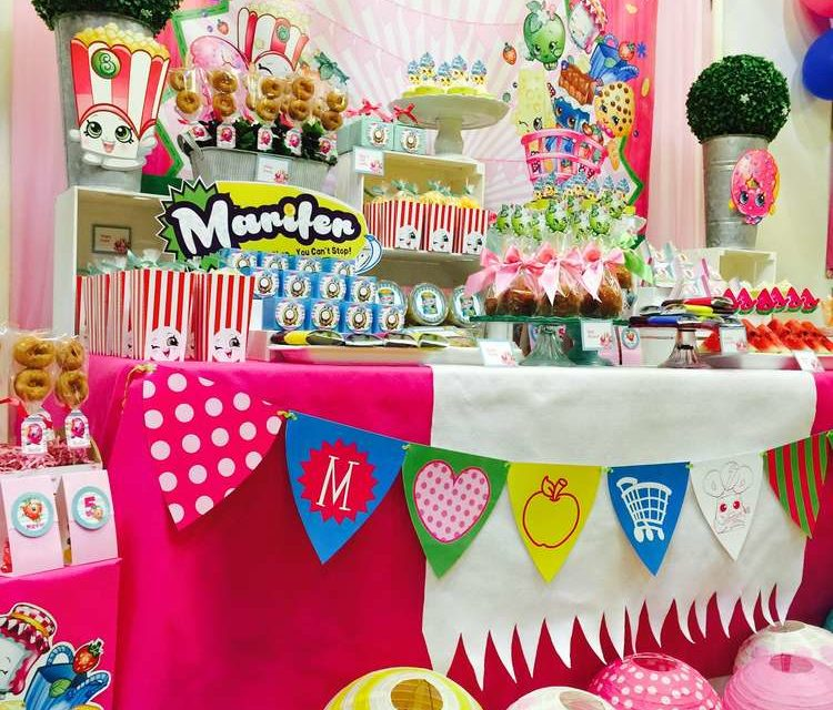 Shopkins Kids Birthday Party