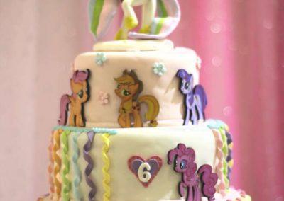 Sunshine My Little Pony Birthday Cake