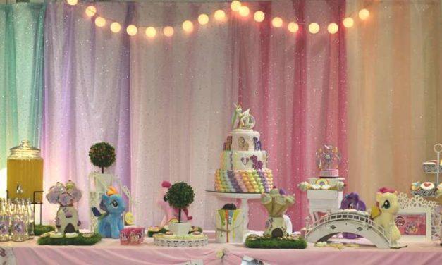 Sunshine My Little Pony Birthday Party