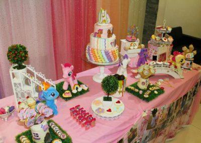 Sunshine My Little Pony Birthday Table