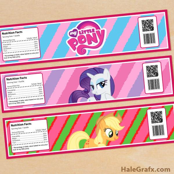 96 My Little Pony Birthday Invitations Printable Free