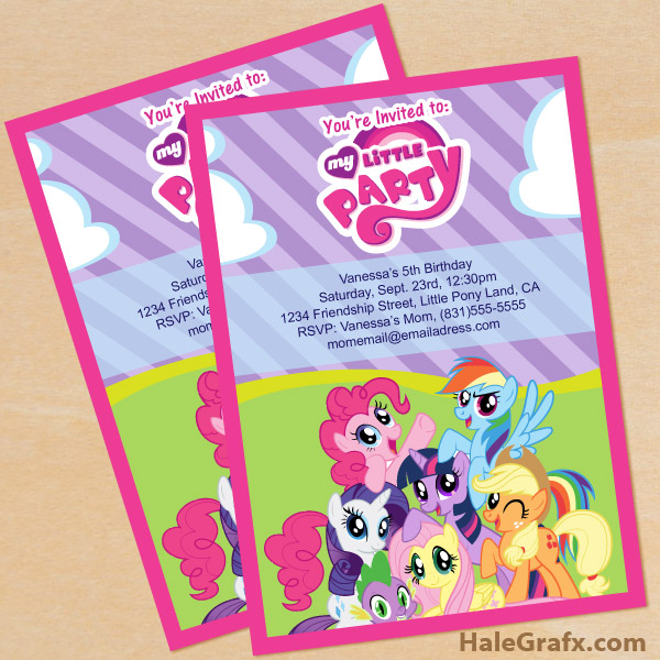 photograph regarding My Little Pony Printable Birthday Cards referred to as Totally free My Tiny Pony Birthday Social gathering Printables Young children Get together Period