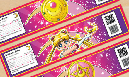 FREE Sailor Moon Birthday Party Printables