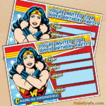 FREE Wonder Woman Birthday Party Printables
