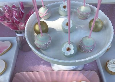Girls First Birthday in Park - Sweets