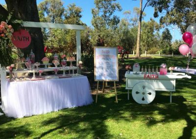 Girls First Birthday in Park