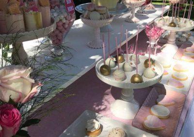 Girls First Birthday in Park - Dessert