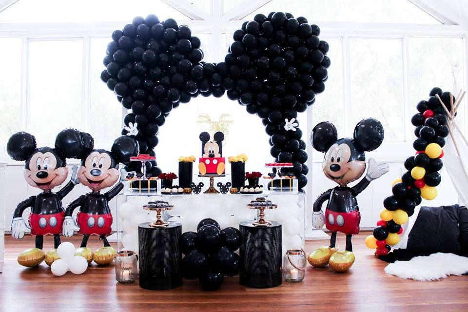 Jordan's Mickey Mouse Inspired First Birthday