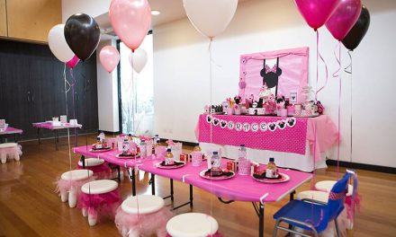 Grace's 2nd Birthday Pink Minnie Mouse Party