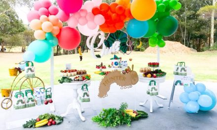 Hungry Caterpillar Birthday Party by Blushing Events