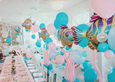 Under the Sea Birthday Party - decorations