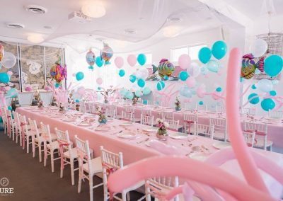 Under the Sea Birthday Party - tables