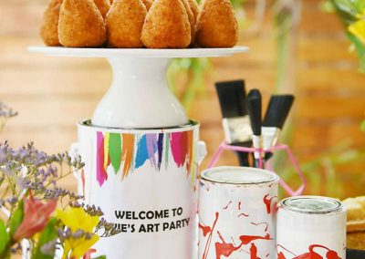 Art Birthday Party Theme