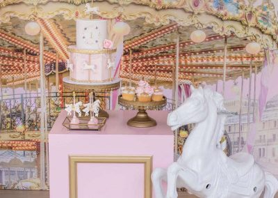 Carousel Birthday Party - backdrop