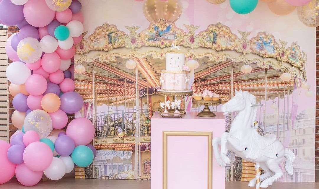 Carousel Birthday Party Theme for Celine by eventful by cynthia
