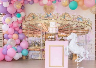 Carousel Birthday Party Theme