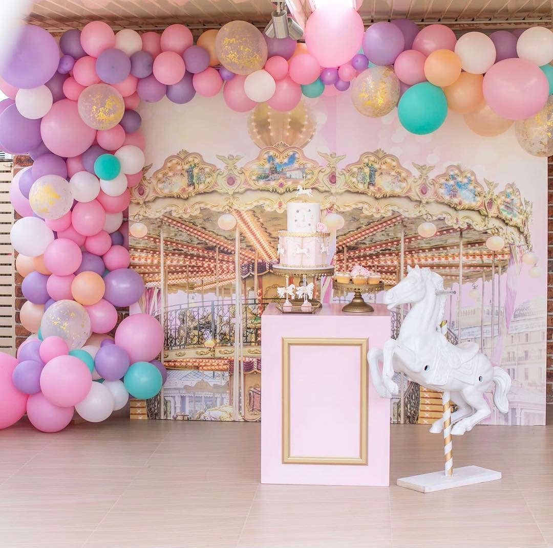 Carousel Birthday Party Theme For Celine By Eventful By