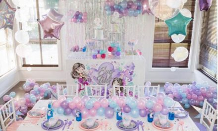Mermaid Fun Birthday Party by xoxo events