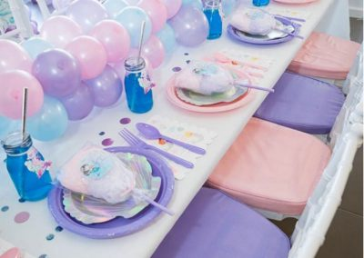 Mermaid Fun Birthday Party