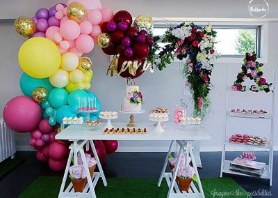 Musical Garden Party Theme by Baked by Belinda