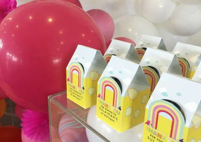 Over the Rainbow Birthday Party - favours