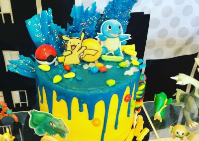Pokemon Birthday Party - cake