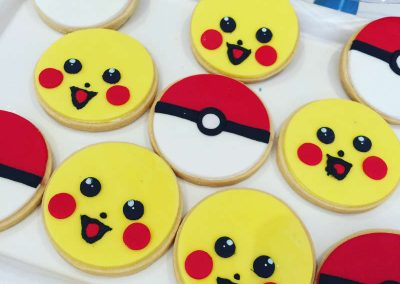 Pokemon Birthday Party - cookies