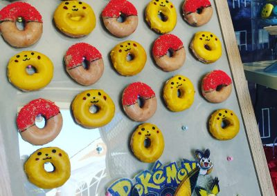 Pokemon Birthday Party - donuts