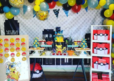 Pokemon Birthday Party - overview