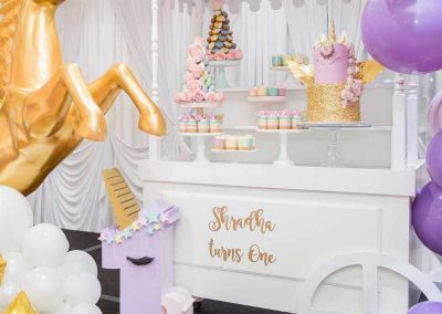 Rainbow and Unicorns Birthday Party -