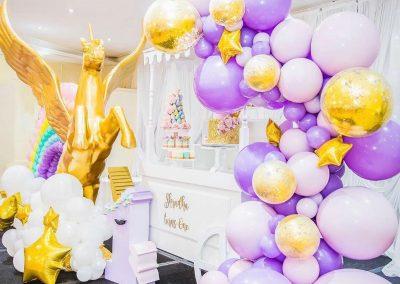 Rainbow and Unicorns Birthday Party -