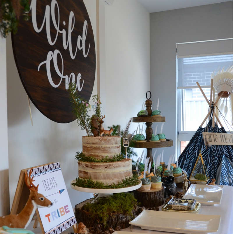 Wild One Birthday Party For Jai By Style Our Party Kids
