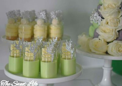 Tinkerbell Birthday Party - desserts