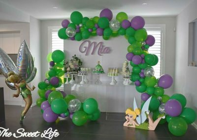 Tinkerbell Birthday Party - overview