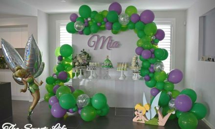 Tinkerbell Birthday Party by the sweet life
