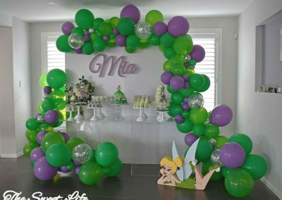 Tinkerbell Birthday Party - dessert table