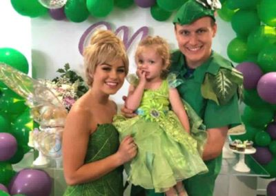 Tinkerbell Birthday Party - tinkerbell and peter pan