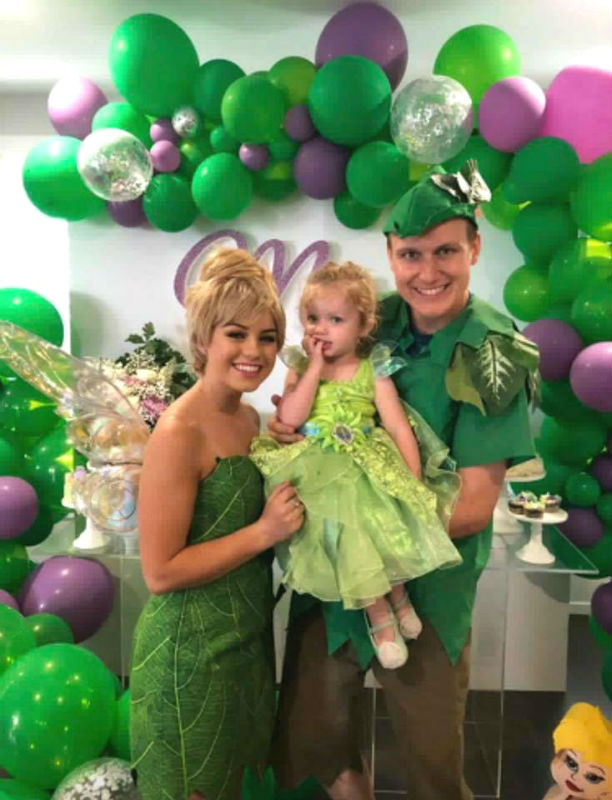 tinkerbell birthday party tinkerbell and peter pan