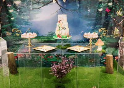 Whimsical Fairy Birthday Party - overview