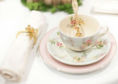 Whimsical Fairy Birthday Party - table setting