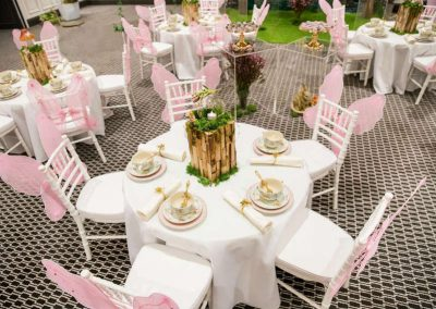 Whimsical Fairy Birthday Party - tables