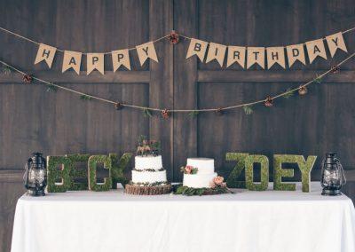 Woodland Birthday Party Theme